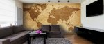wall mural world map